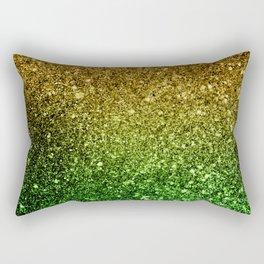 Ombre glitter #2 Rectangular Pillow