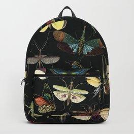 Lovely Butterfly Black Backpack