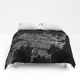 Sydney map Australia Comforters