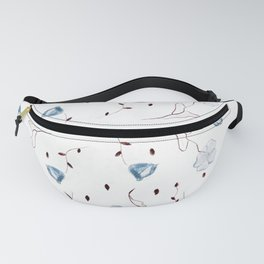 Floral Pattern #1 #drawing #decor #art #society6 Fanny Pack