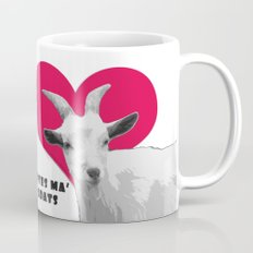 Totes Ma Goats - Red Mug