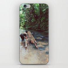 Borneo river rafting iPhone & iPod Skin