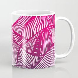 Lines in the mountains 05 Coffee Mug