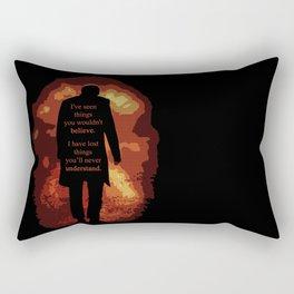 [ Doctor Who ] Eleven Matt Smith Akhaten Rectangular Pillow