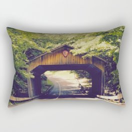 Road to Sleeping Bear Dunes Rectangular Pillow