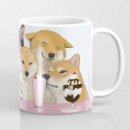 Milkshake Dog Friends Coffee Mug