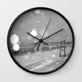 Short Beach Wall Clock