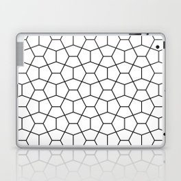 Moroccan Diamonds B&W Laptop & iPad Skin