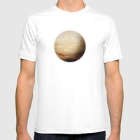 Element: Earth Mens Fitted Tee MEDIUM White