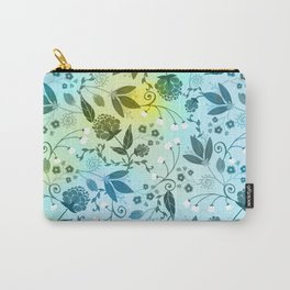 Floral Stock V2 Carry-All Pouch