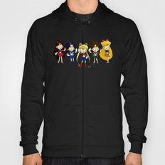 Sailor Scouts 5 Hoody