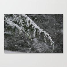 Snowy Day 3 Canvas Print