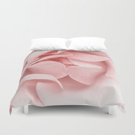 Pink flora Rose Bud- Roses and flowers Duvet Cover