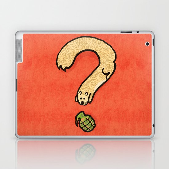 Curiosity: it kills Laptop & iPad Skin
