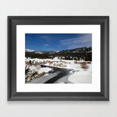 Carson River Framed Art Print