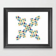 Symbol abstrac Framed Art Print