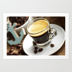 Espresso Maritim Art Print