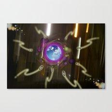 Alien  Attack Canvas Print