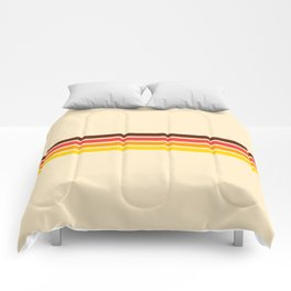 African Retro Stripes Comforters