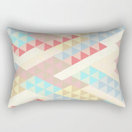 Harlequin Pale Background Rectangular Pillow