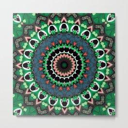 Emerald Jive Metal Print