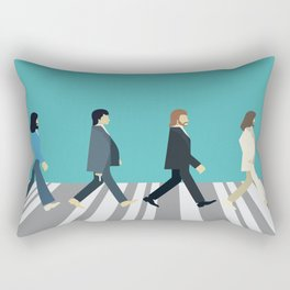 The tiny Abbey Road Rectangular Pillow