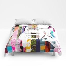 Electric Guitar   Magazine Strip Art Comforters