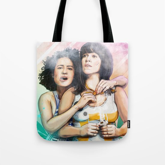These Are The Broads You Are Looking For Tote Bag
