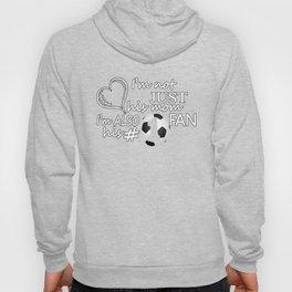 Football #1 Mom Hoody