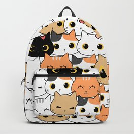 Cat Faces Backpack
