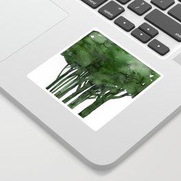 Tree Impressions No.1C by Kathy Morton Stanion Sticker