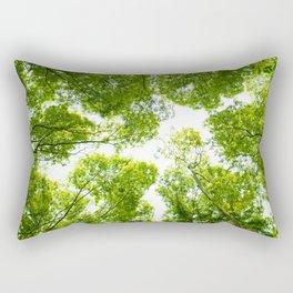 New green leaves Rectangular Pillow
