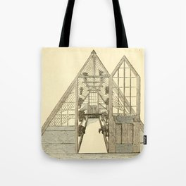 Antiquarian Greenhouse Tote Bag
