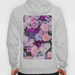 Pink Purple Flowers x Ultraviolet Hoody