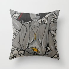Kali Pirate Throw Pillow