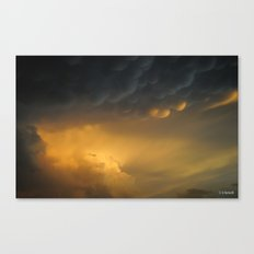 It Coms to an End Canvas Print