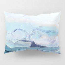 Indigo Abstract Painting | No.6 Pillow Sham