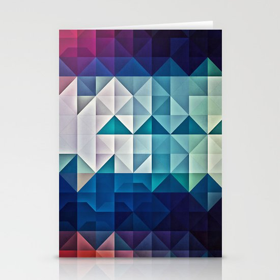 cool palette Stationery Cards