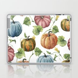 PUMPKINS WATERCOLOR Laptop & iPad Skin