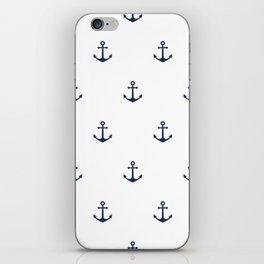 Anchor Pattern iPhone Skin
