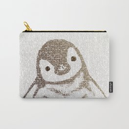 The Little Intellectual Penguin Carry-All Pouch