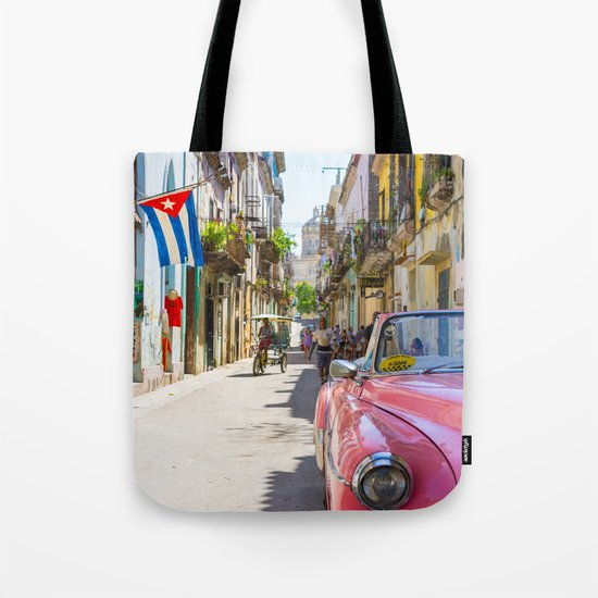 Colorful building streets in Cuba by artpics