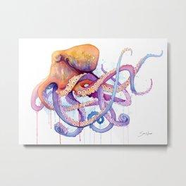 Octopus II Metal Print