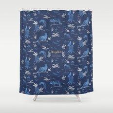 Nemophilist Shower Curtain