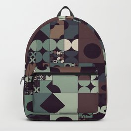 Procedural creative coding graphics  Backpack