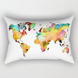 world map 71 Rectangular Pillow
