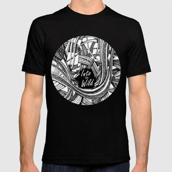 Into The Wild (b&w version) T-shirt