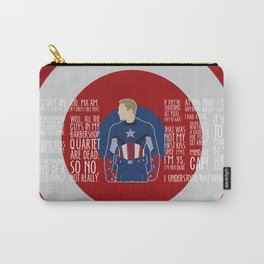 The First Avenger Carry-All Pouch