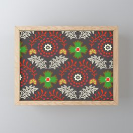 BOHEMIAN FARMHOUSE DARK Framed Mini Art Print