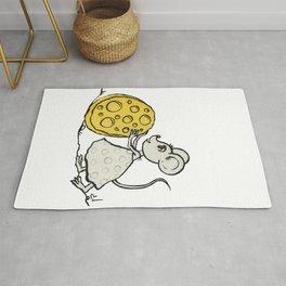 Mouse Sisyphus Rug